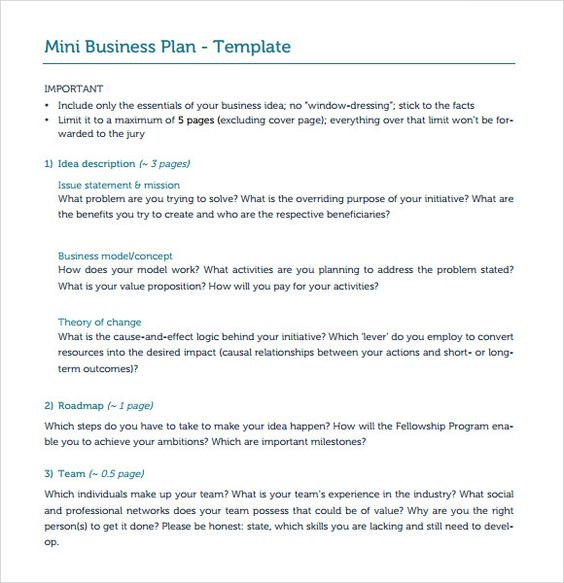 Business plan template and example how to write a business plan - business contingency plan template