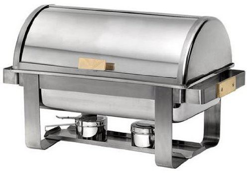 """American Metalcraft MACD3 Chafers, 24.5"""" Length x 13.75"""" Width, Silver"""