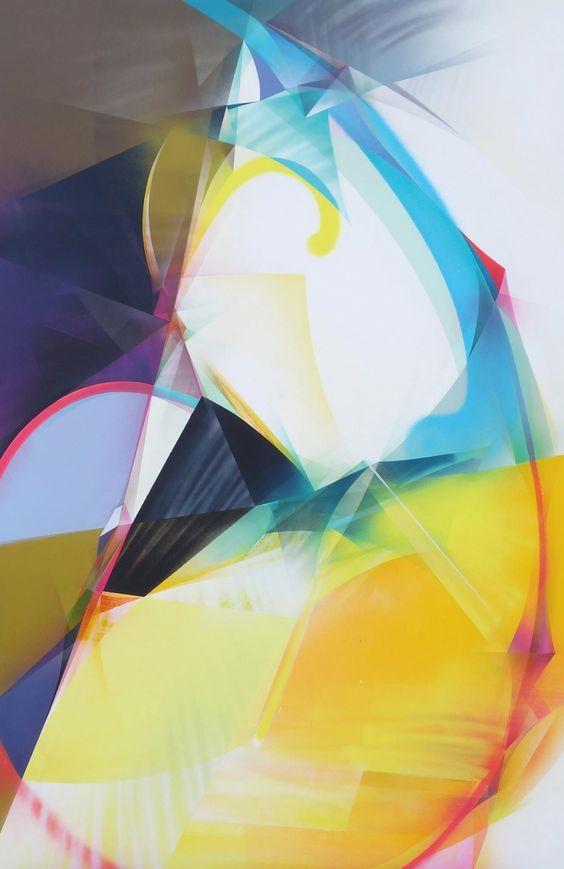 RAPHAEL BORER AND LUKAS OBERER - UNTITLED - ARTSTÜBLI  http://www.widewalls.ch/artwork/raphael-borer-and-lukas-oberer/untitled-44/ #painting