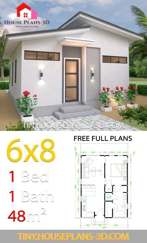 6x8 House Plans Roof Shed Studio Studio House Plans 6x8 Shed Roof Tiny House Plans Tiny House Plans My House Plans House Plans