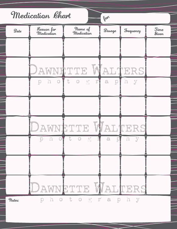 Pill calendar template 28 images 7 pill chart template pill calendar template printable medication chart family by pronofoot35fo Choice Image