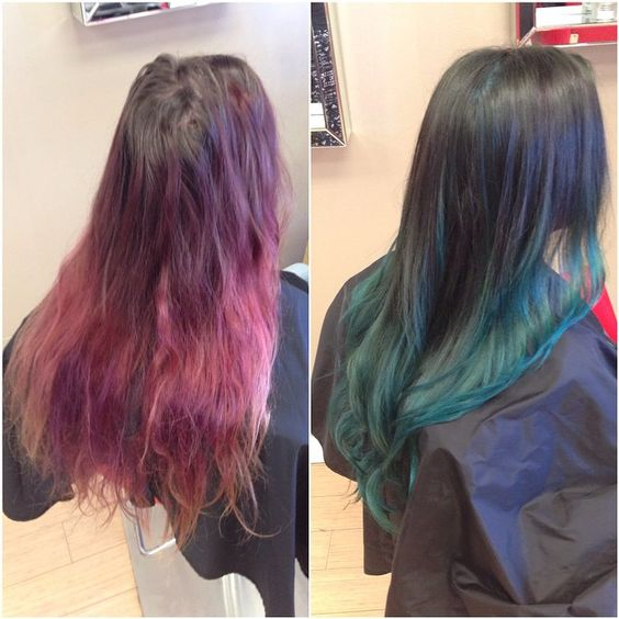 Before & after of Alyssa's client!