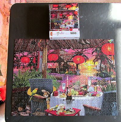 Used Ceaco Jigsaw Puzzle - Dream Day Honeymoon with Hidden Objects - 1000 pieces https://t.co/7LDQJrCxfL https://t.co/eQb9hMfSJz