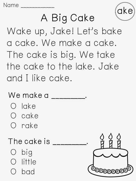 Number Names Worksheets reading exercise for kindergarten : Pinterest • The world's catalog of ideas