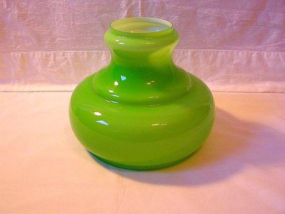 70er Glas Lampenschirm / Firma Honsel / Für von DreamlandofElves