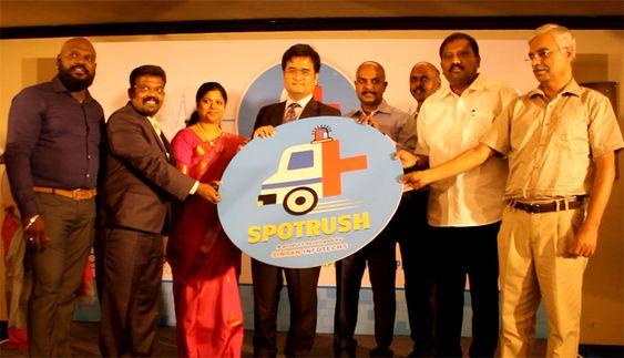 SPOTRUSH Medical Emergency App Launch