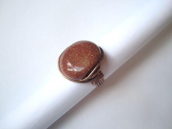 'Goldstone Ring' is going up for auction at  2pm Fri, Jun 22 with a starting bid of $9.