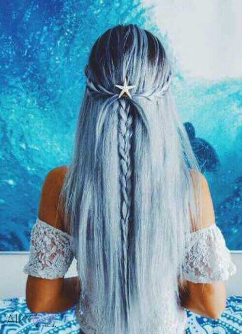 Top 37 Inspired Mermaid Hair Extensions And Hairstyles 2020 Hair Styles Long Hair Styles Mermaid Hair