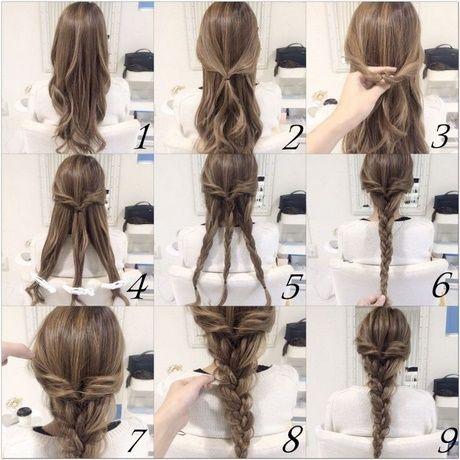 Nette Schnelle Und Einfache Frisuren Einfache Frisuren Nette Schnelle Zopf Lange Haare Lange Haare Zopffrisuren