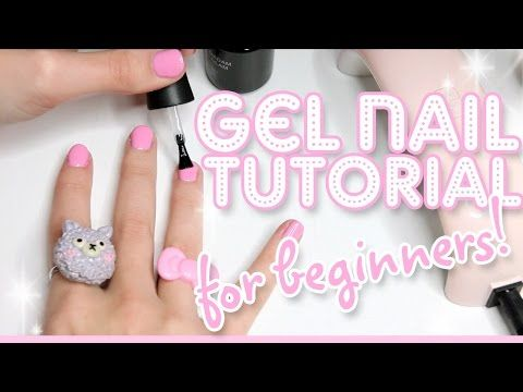 How to Apply & Remove Soak-Off Gel Nail Polish for Beginners - YouTube