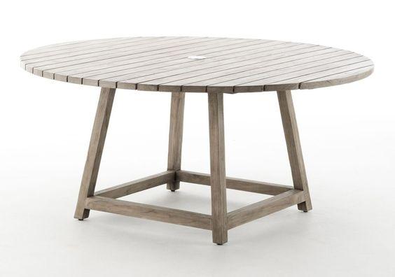 Sika design   george havebord er fremstillet i genbrugs teak, så ...