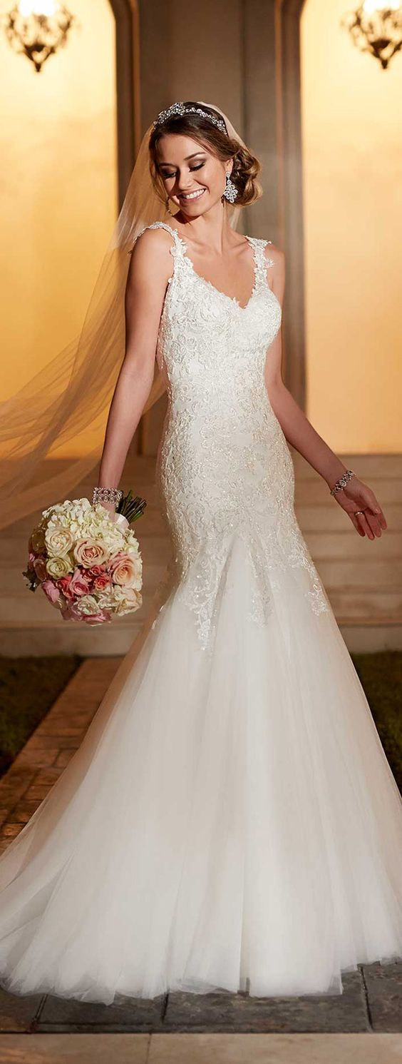Wedding Dress by Stella York Spring 2016: