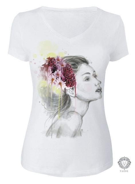 Tshirt Boho - Estampa Digital http://tuse.com.br/servicos.php
