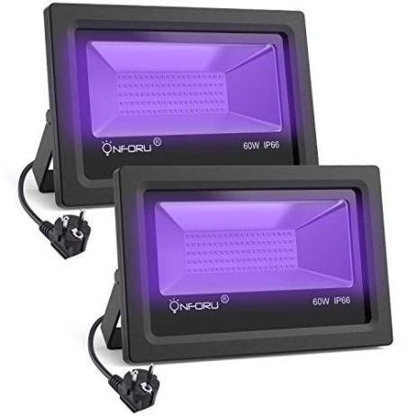 Onforu 60w Spot Led Uv Lampe Projecteur Projecteur Led