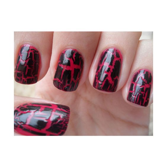 Crackle Nail Polish ❤ liked on Polyvore