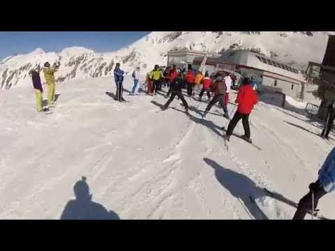Mölltaler Gletscher Sonnenskilauf im Frühjahr 2012
