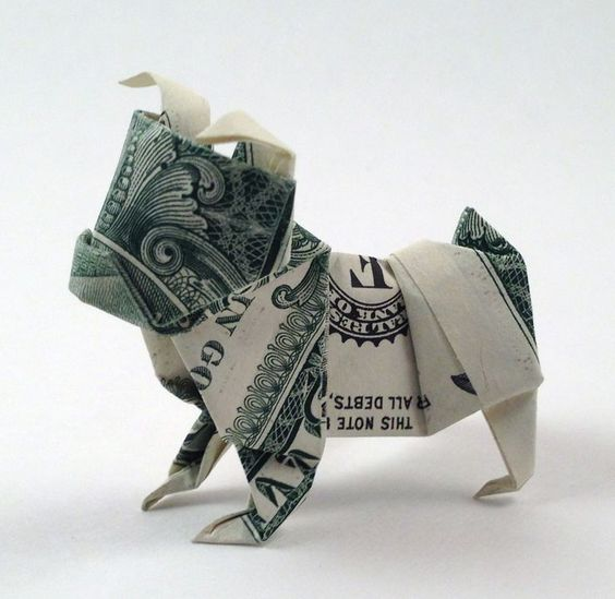 15 Tutorials for Dollar Bill Origami Tooth Fairy Gifts: