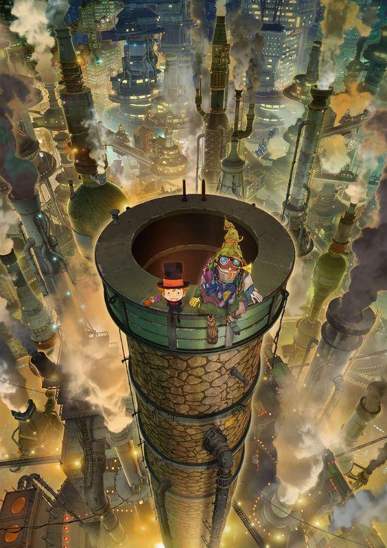 Anime Poupelle of Chimney Town Thêm 'Halloween Party' Của HYDE Làm Bài Hát Mở Đầu