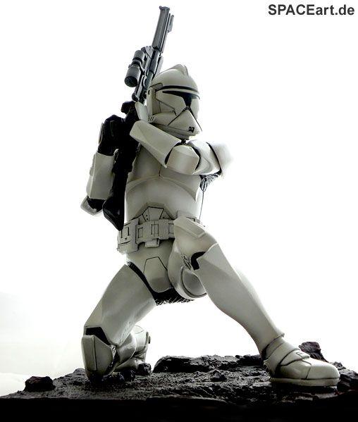 Star Wars: Clone Trooper Art FX Statue, Fertig-Modell, http://spaceart.de/produkte/sw003.php