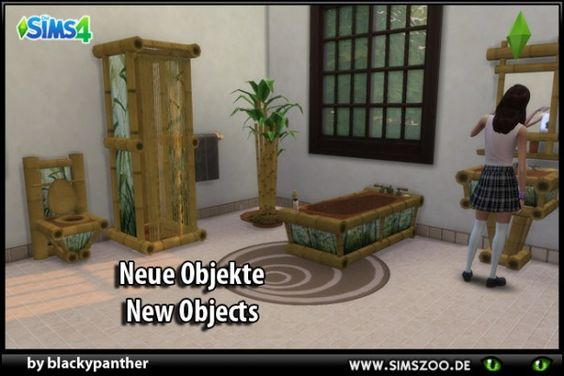 ... Sims 4 CCu0027s   The Best Bathroom Rugs By Bildlichgesehen The   Sims 3  Badezimmer ...