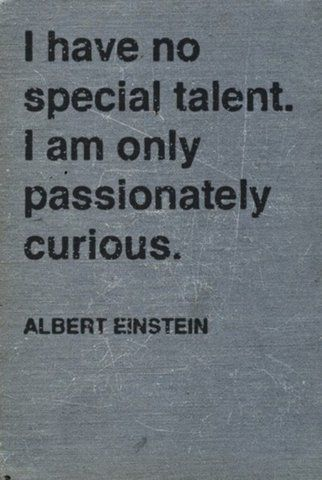 #passionatelycurious