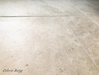 Carrelage Imitation Travertin Artemis En 2020 Travertin Carrelage Pierre Naturelle Carrelage