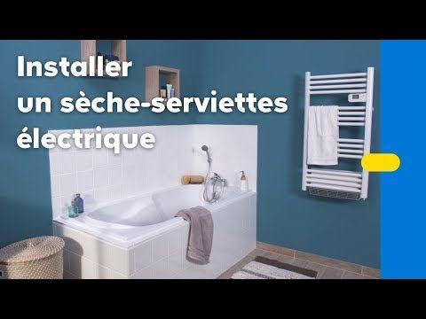 Videotuto Comment Installer Un Seche Serviettes Electrique Castorama Castorama Comment Seche Serviette Electrique Seche Serviette Salle De Bain Design