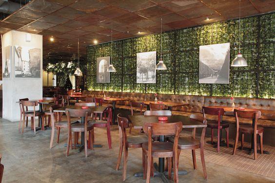 Rockwell Powerplant Restaurants Bar
