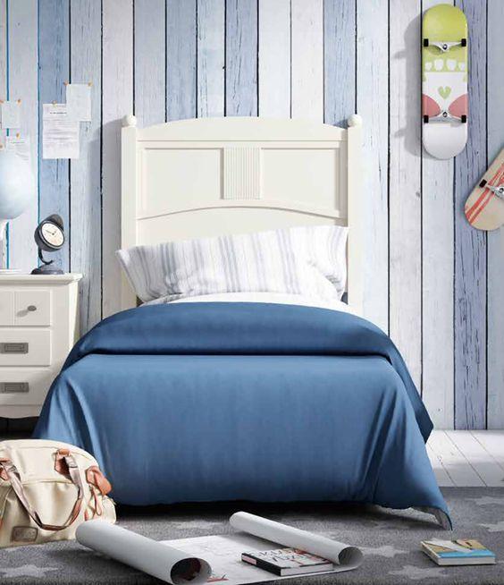Cabezal para cama y conjuntos juveniles de estilo colonial - Camas estilo colonial ...