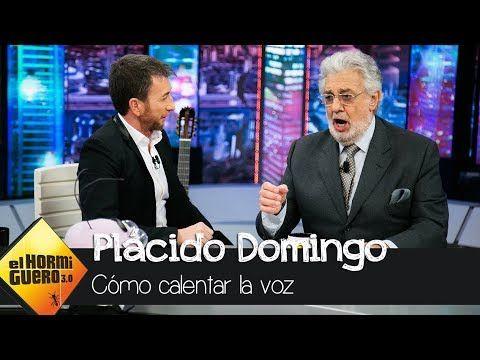 Placido Domingo Ensena Como Calentar La Voz El Hormiguero 3 0