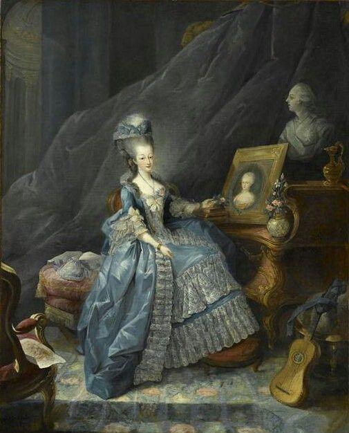 Marie Thérèse de Savoie, Comtesse d'Artois, 1775 Jean-Baptiste-André Gautier d'Agoty: