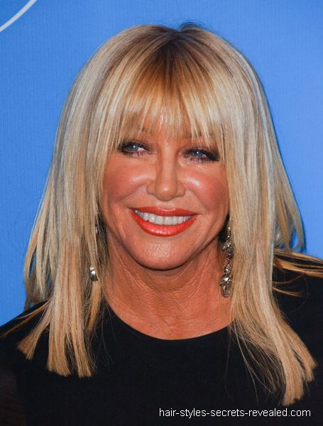 suzanne somers hairstyle : Suzanne Somers Hairstyle Picture