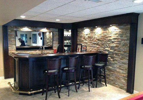 Awesome Basement Bar Kits Tips For 2019 Basement Bar Plans Basement Remodel Diy Basement Design