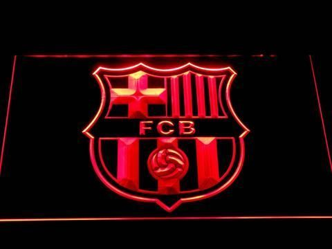 Fcb Barcelona Football 3d Led Neon Sign Man Cave Soccer Fan Club Best Gift Led Neon Signs Led Signs Neon Signs