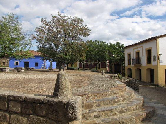 La Villa de Granadilla. Cáceres. La Granada extremeña.
