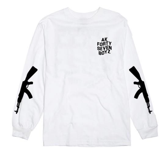 47 BOYZ LONG SLEEVE TEE