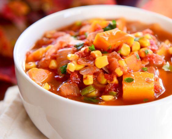 Tomato Butternut Squash Soup