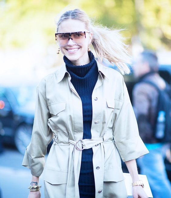 Are These Fashion Week's Most-Wanted Sunglasses? via @WhoWhatWearUK