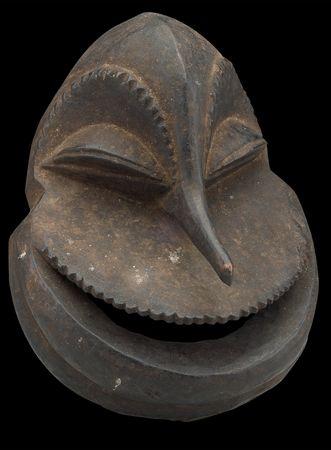 masque Sokomutu des hembas du Congo: