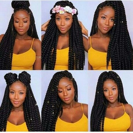 Stile Mit Zopfen Zu Tun Stile Zopfen Coiffure Coiffure Africaine Coiffure Braids