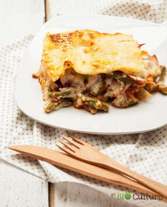 Découvrez une autre manière de déguster les haricots verts avec notre recette de lasagnes végétariennes. Pour4 personnes Temps de préparation :30 min Temps de cuisson :40 min