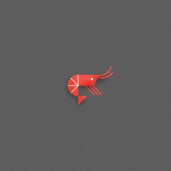 Shrimpy. #illustration #seafriend