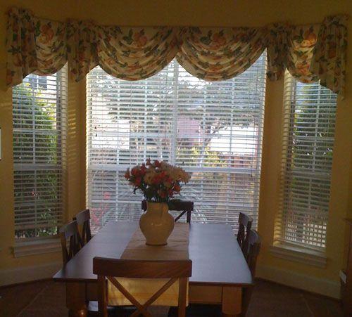 Bay Window Valances: Bay Windows, Curtains And Window Treatments On Pinterest