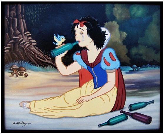 Alcoholic Snow White