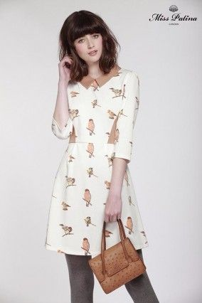 Westminster Dress(Bird) (5)