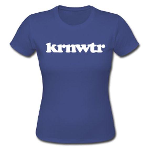 KRNWTR T-shirt Blauw voor dames