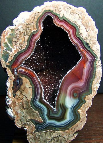 how to cut an agate in half