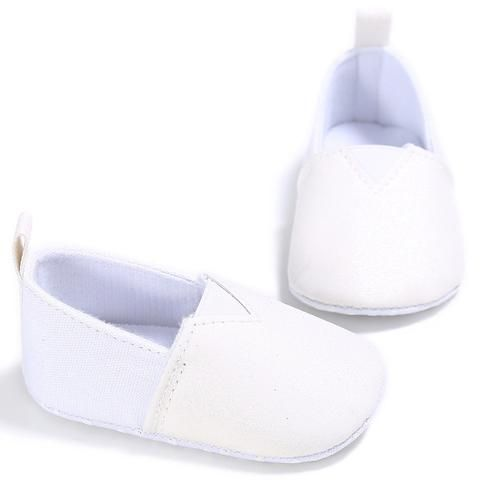 Baby Newborn First Walkers Toddler Sneakers Soft Sole Non-Slip Crib  Shoes