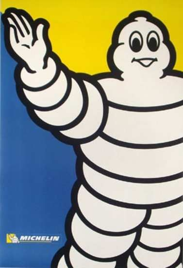 Michelin Man vintage poster collection: