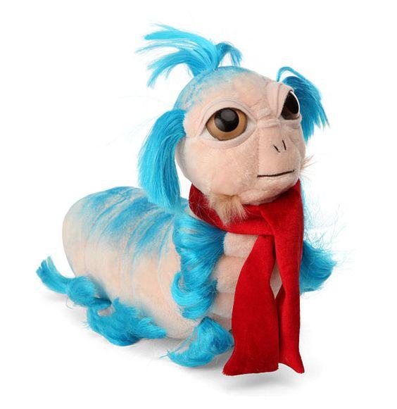 GEEK OVERLOAD!!! ThinkGeek :: Limited Edition Labyrinth Worm Plush: